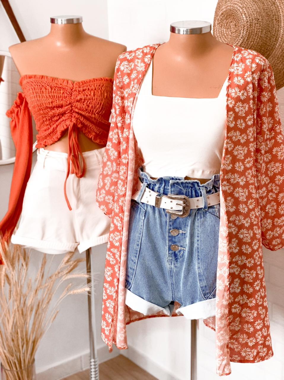Kimono Flores campestres