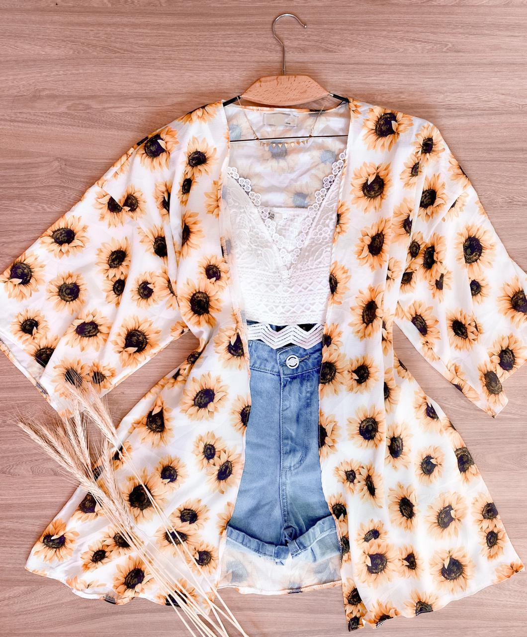 Kimono Girassol