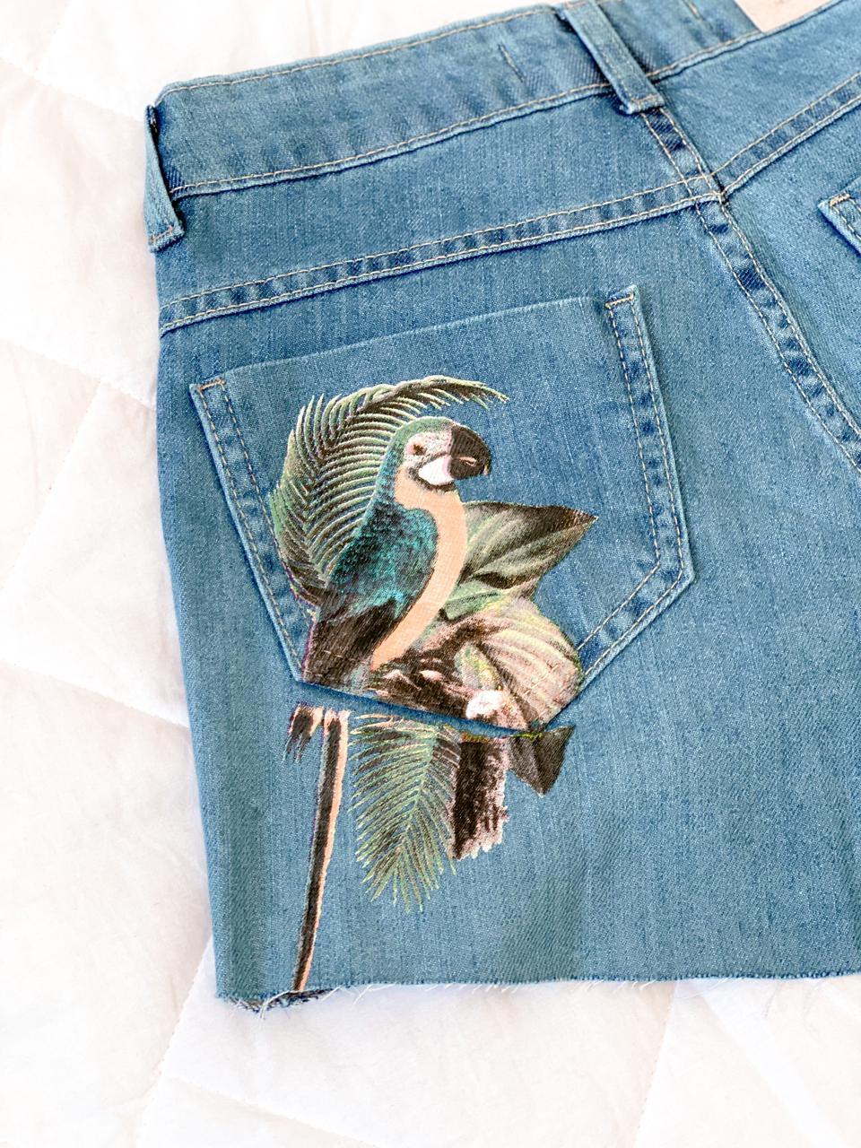 Short Jeans Arara