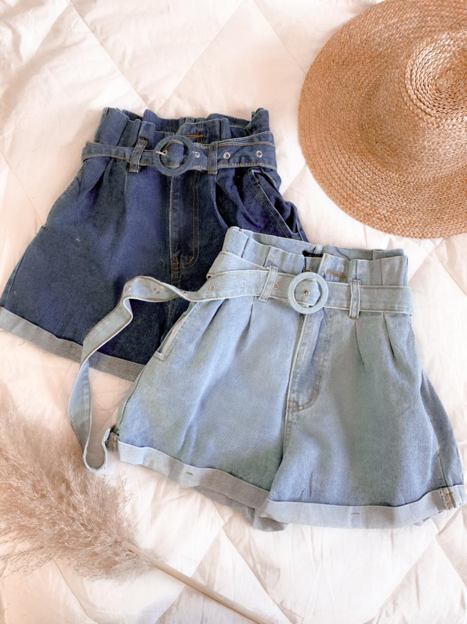 Short jeans com short