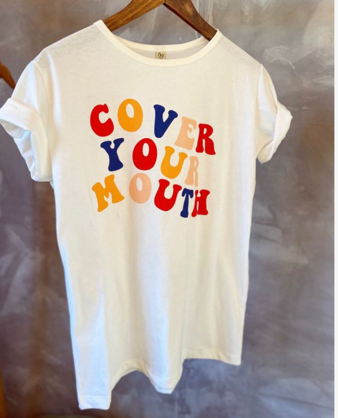 T-shirt MAX cover your mouth