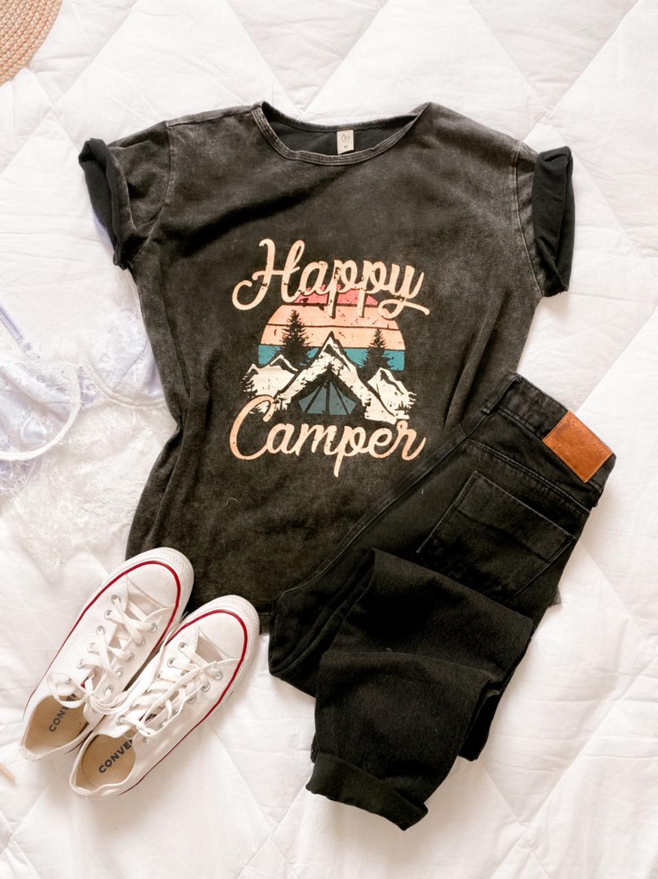T-shirt max estonada HAPPY CAMPER