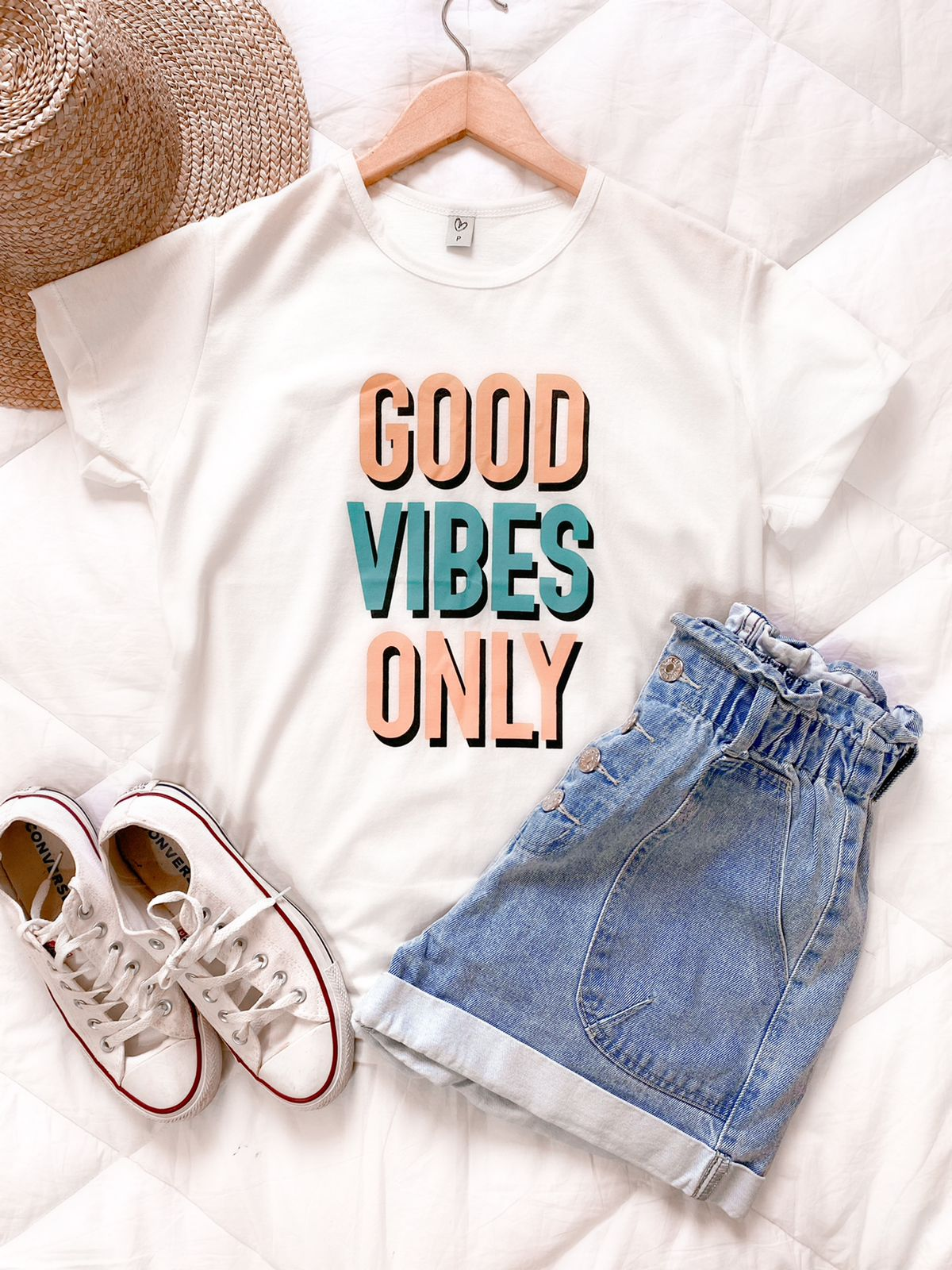 T-shirt Max GOOD VIBES