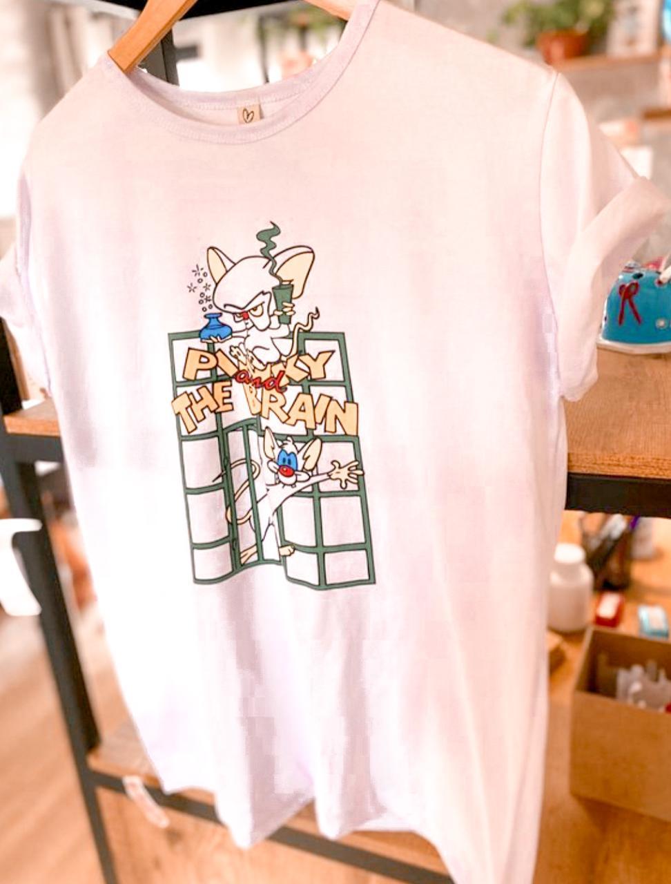 T-shirt MAX pink e cerebro