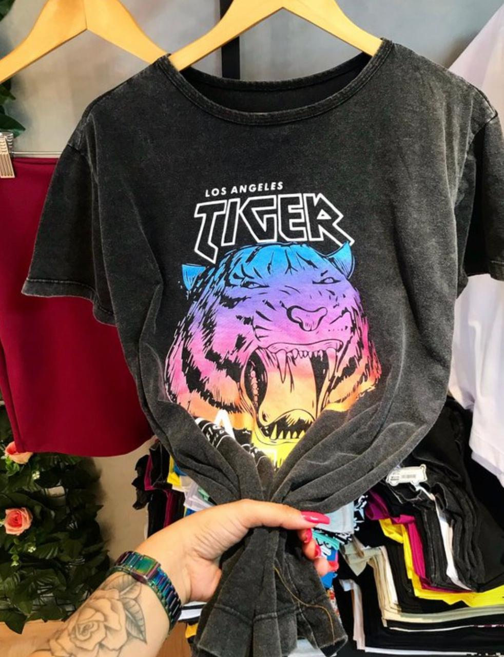 T-shirt MAX TIGER LOS ANGELES estonada