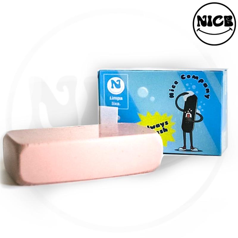 Borracha Limpa Lixa Nice Skate Co. Grip Clean