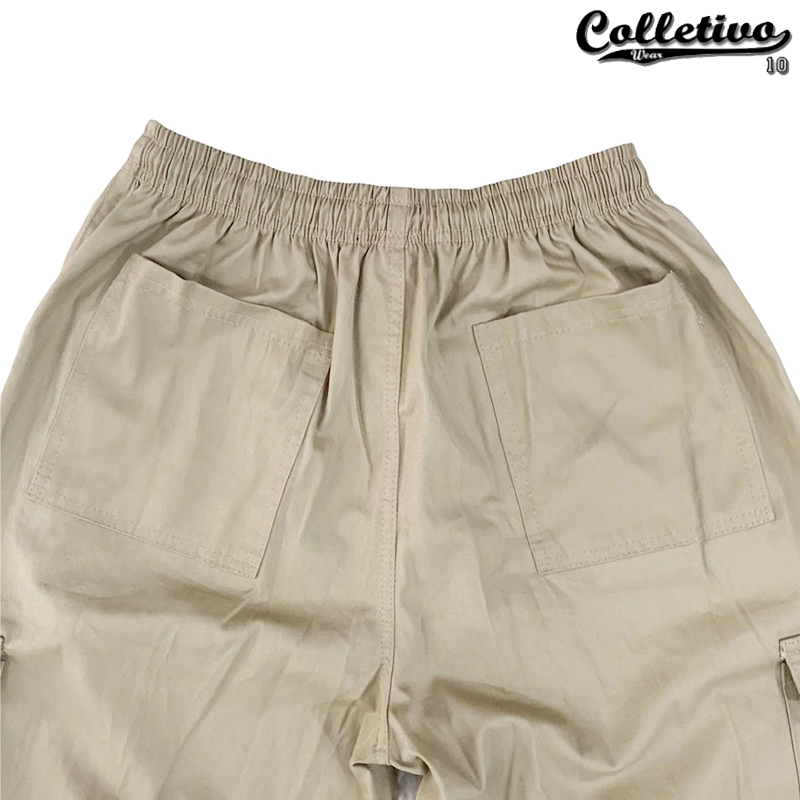 Calça Cargo Colletivo Wear - bege
