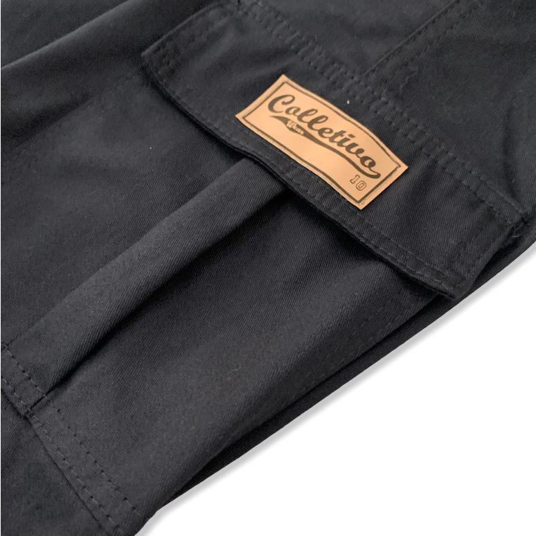 Calça Cargo Colletivo Wear - Preta
