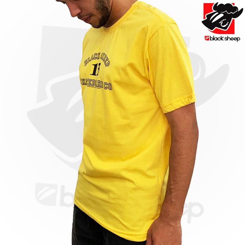 Camiseta Black Sheep 13 AMARELA - G