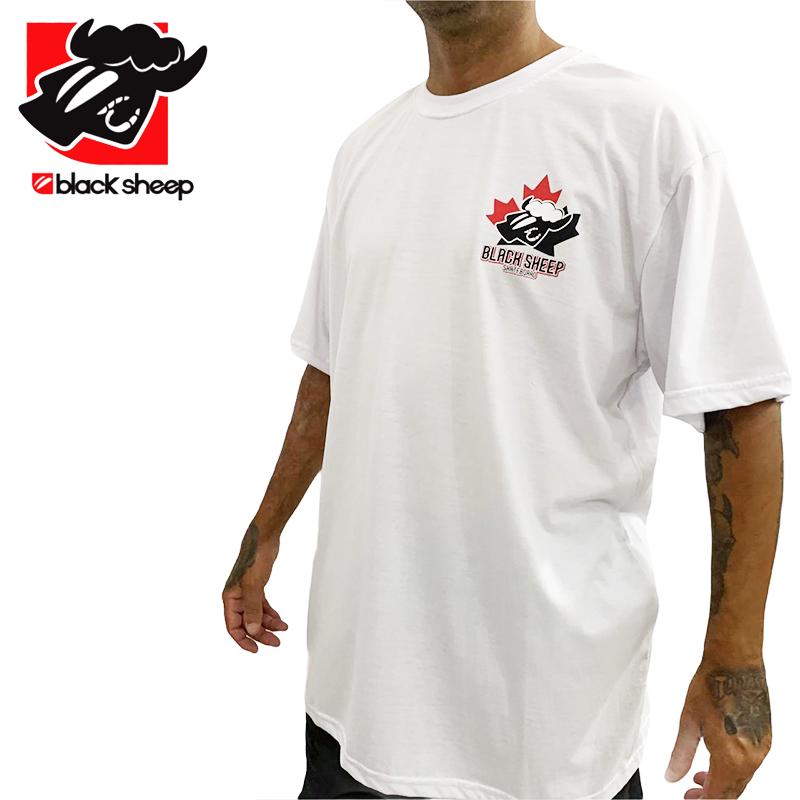 Camiseta Black Sheep Branca - Maple - GG