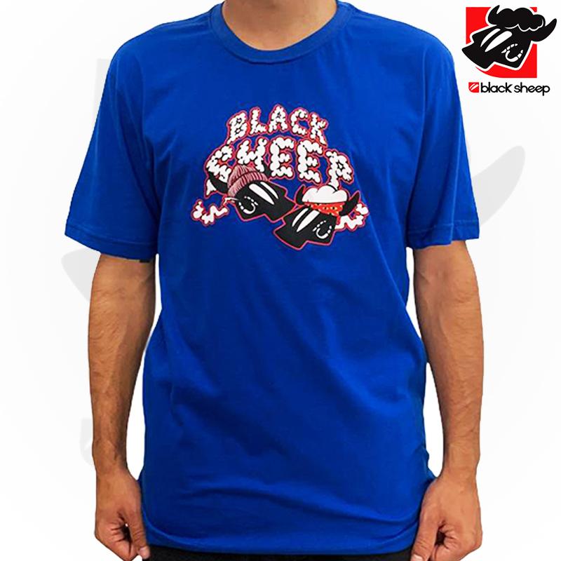 Camiseta Black Sheep Cheech & Chong azul GG