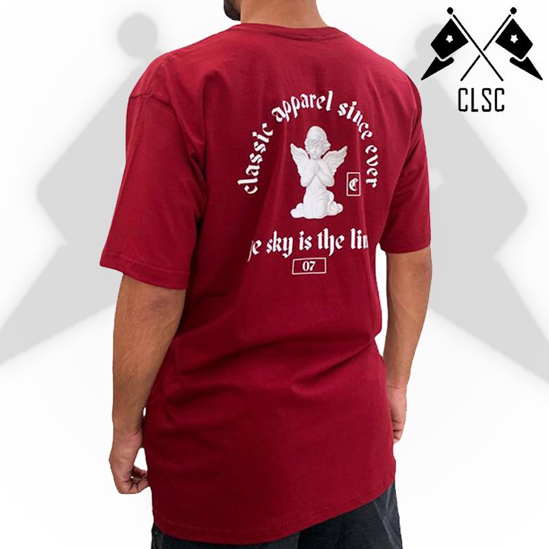 Camiseta Classic since ever - Vinho