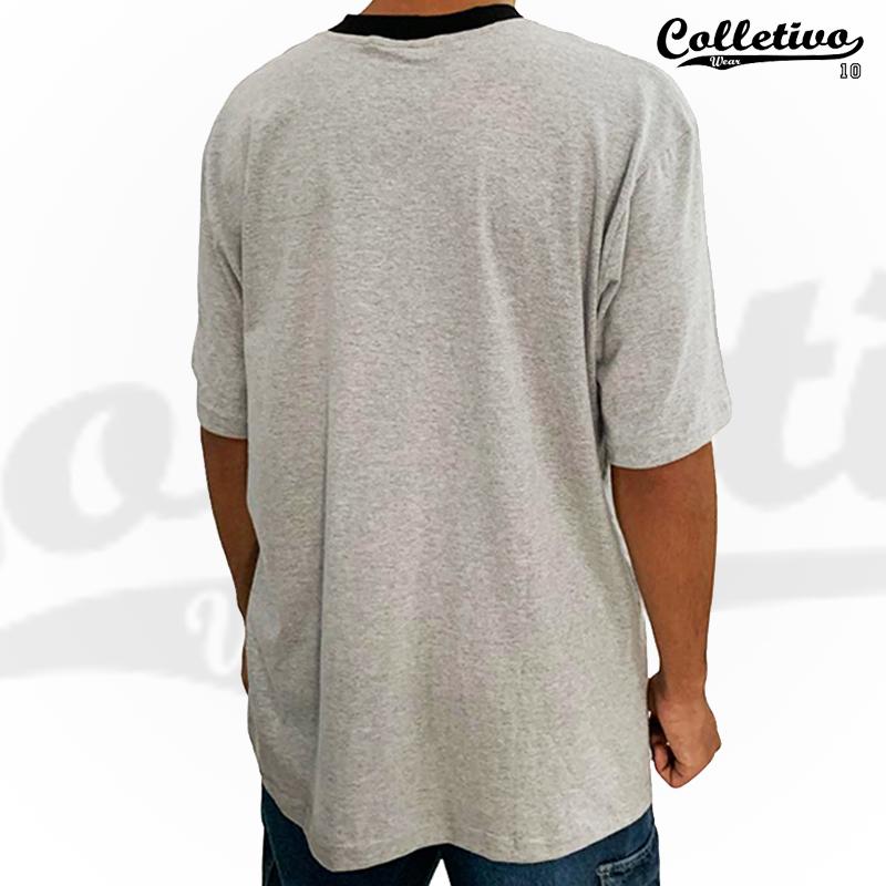 Camiseta Colletivo Wear - Cinza GG
