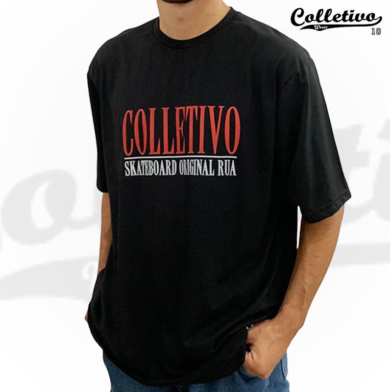 Camiseta Colletivo Wear PRETA - Original Rua 2XL/GGG