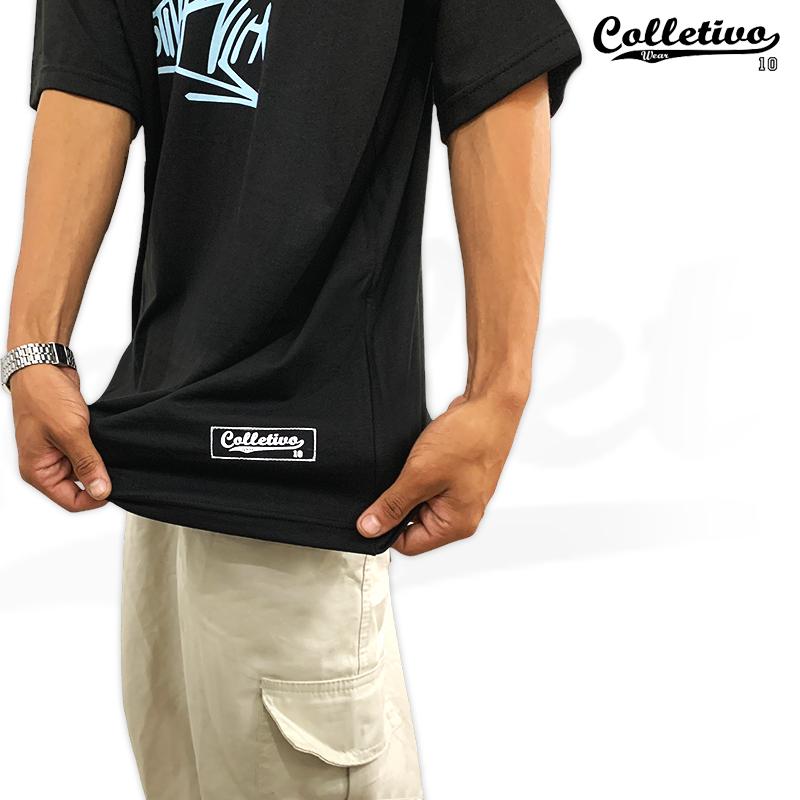 Camiseta Colletivo Wear Preta Tag GG