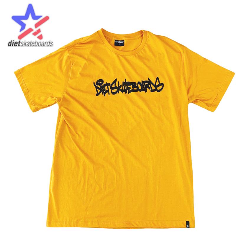 Camiseta Diet Skateboards - MOSTARDA TAG - G