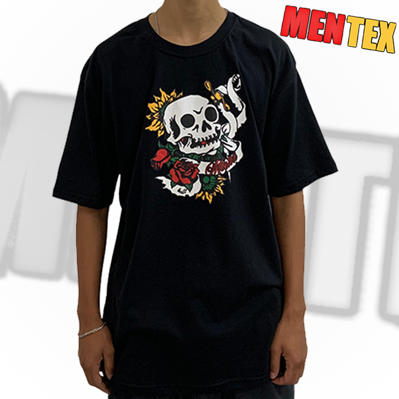 Camiseta Mentex Old School Preta GG