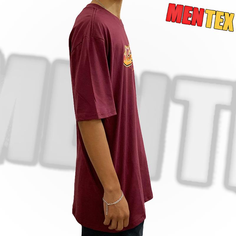 Camiseta Mentex Old School vinho GG