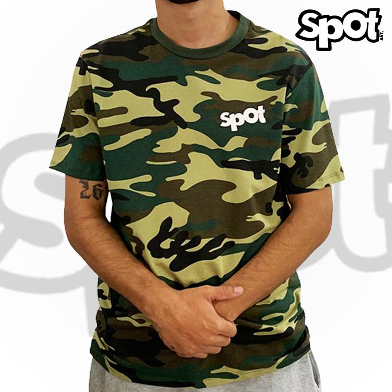 Camiseta SPOT -  CAMUFLADA G