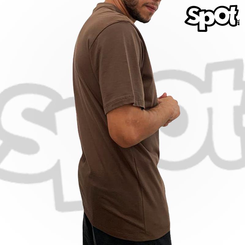 Camiseta SPOT - MARROM G