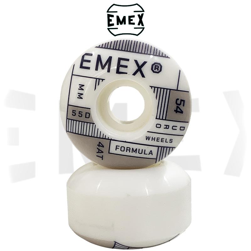 Kit Trucks SENSE Light 137mm + Rodas EMEX 54mm