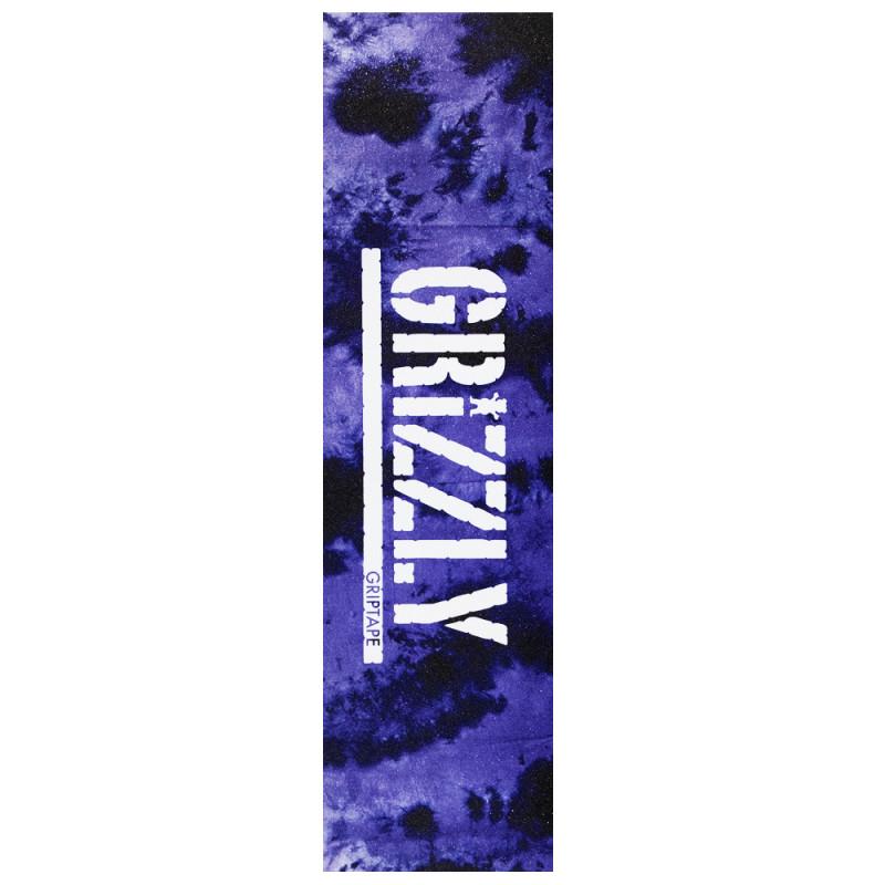 LIXA GRIZZLY  Emborrachada importada Tie-Dye PURPLE