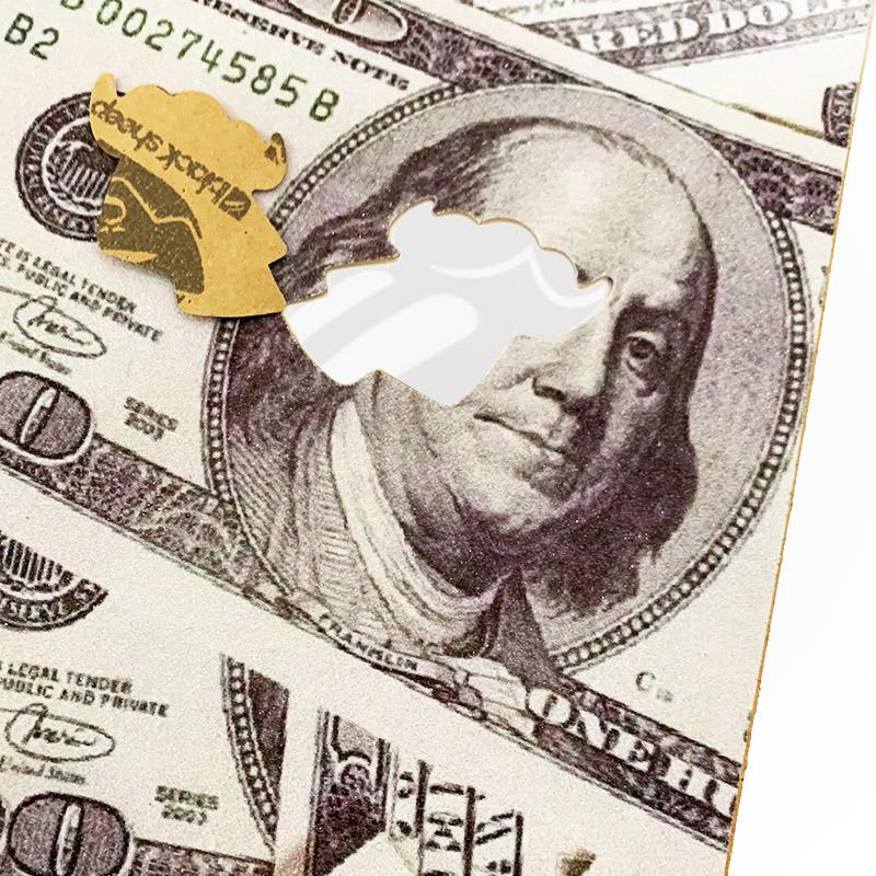 Lixa Black Sheep Premium Dollar emborrachada importada