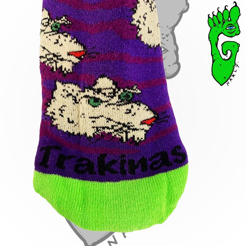 "Meias G-NARLY FOOT -  Pro model ""TRAKINAS"""