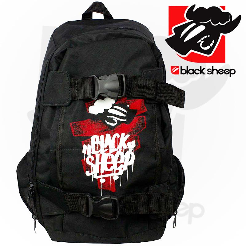 Mochila Black Sheep com Skate Bag