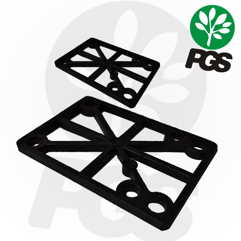 Pads elevadores para skate PGS