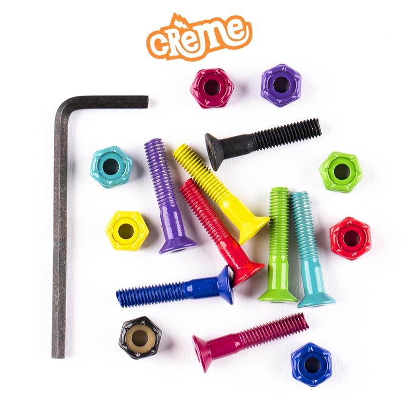 Parafusos de Base CREME Colors 3/8 Aço Importados