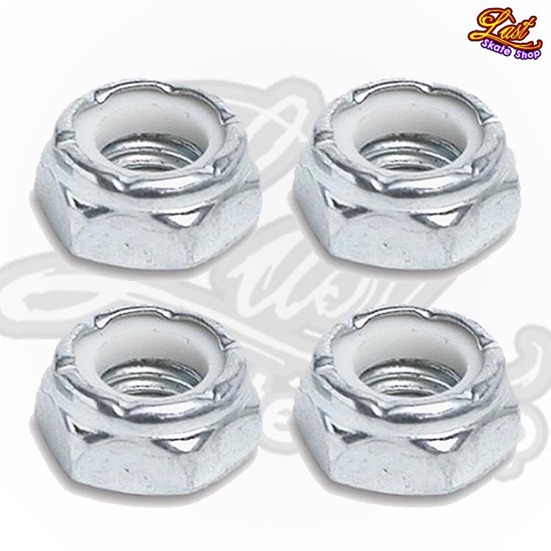 Porcas de rodas 13mm - Prata
