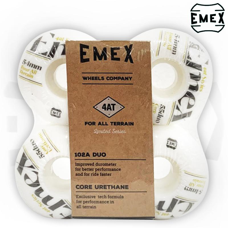 Rodas EMEX 54mm 102A de Dureza importadas