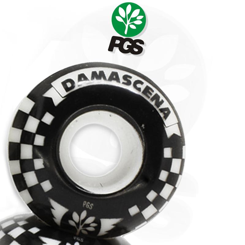 Rodas PGS 51mm Pro Model Damascena 98A de Dureza