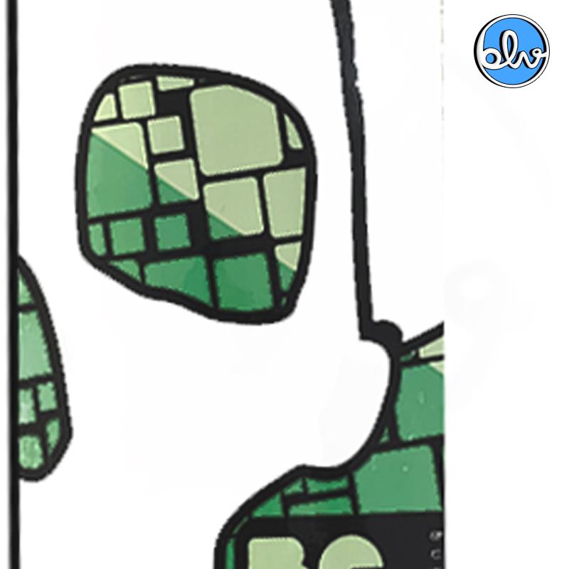Shape Believe + Lixa Nacional 8.0 Caveira Marfim Profissional