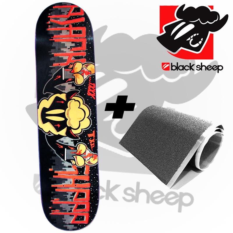 Shape Black Sheep 8.0 Marfim Profissional Tag Vermelho