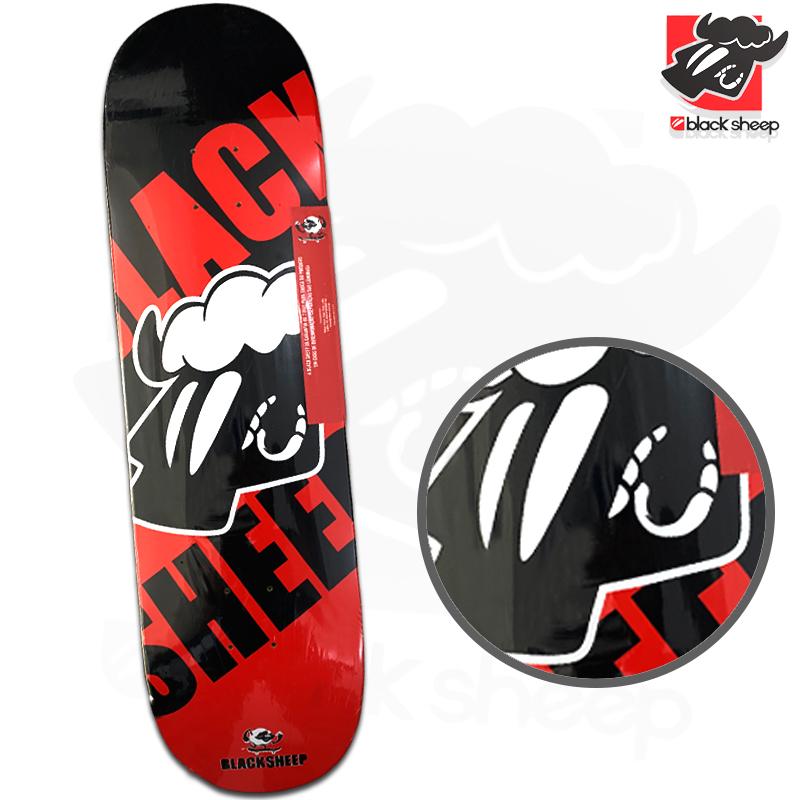 Shape Black Sheep 8.50 Maple Vermelho e Preto Profissional Importado