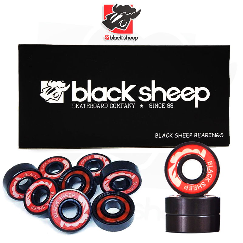 Shape Black Sheep Maple 8.25 + Roda Black Sheep 53mm + Rolamentos Black Sheep BLACK
