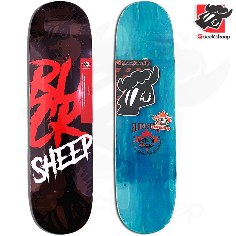 Shape Black Sheep Maple BLCK 8.25 + Lixa Emborrachada Jessup Grip Tape