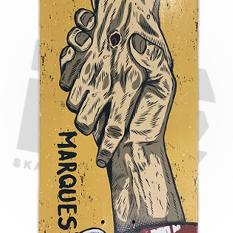 Shape IDE Skateboards 8.25 Marfim Profissionail - Pro model Mario Marques