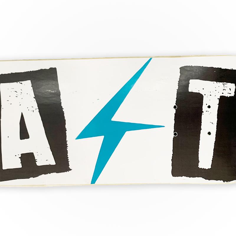 Shape Last Skateboard 8.0 Marfim Profissionail - Série CUT - Branco