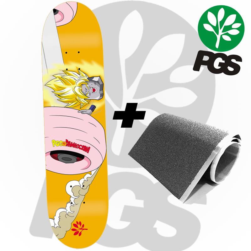 Shape PGS +  Lixa Nacional 8.0 Pro Model Damascena Sayajin Marfim Profissional