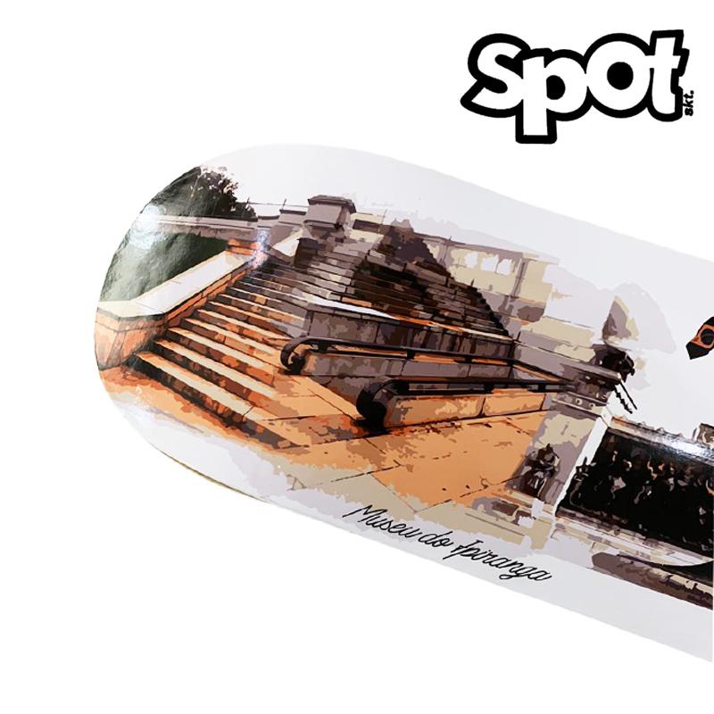 Shape Spot 8.0 Profissional Marfim com Fibber glass - Museu do Ipiranga