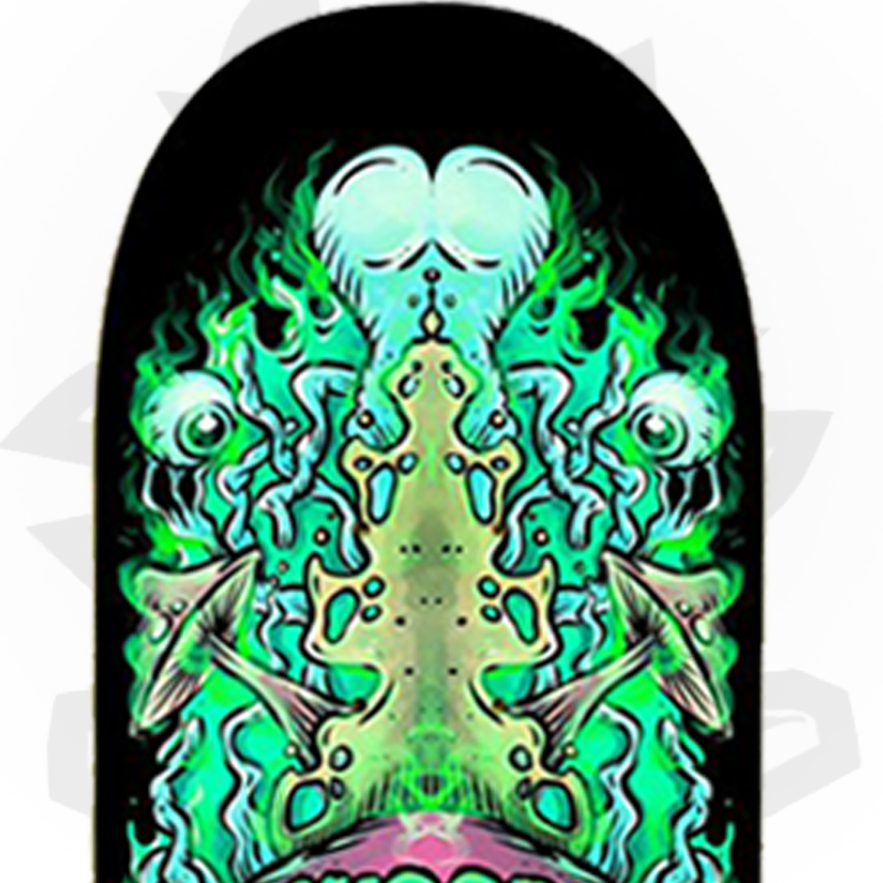 Shape Wood Light 8.0 Alien Profissional Marfim + Fiber Glass