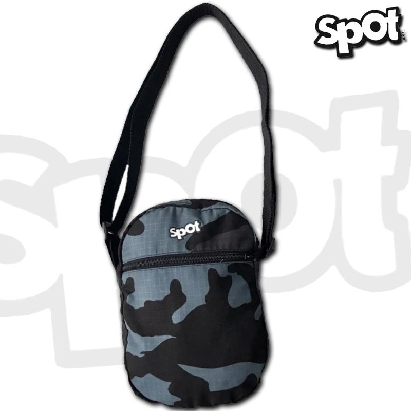 Shoulder's Bagy's SPOT - Camuflada cinza