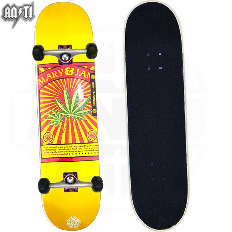 Skate Semiprofissional Montado ANTI ACTION MARY JANE