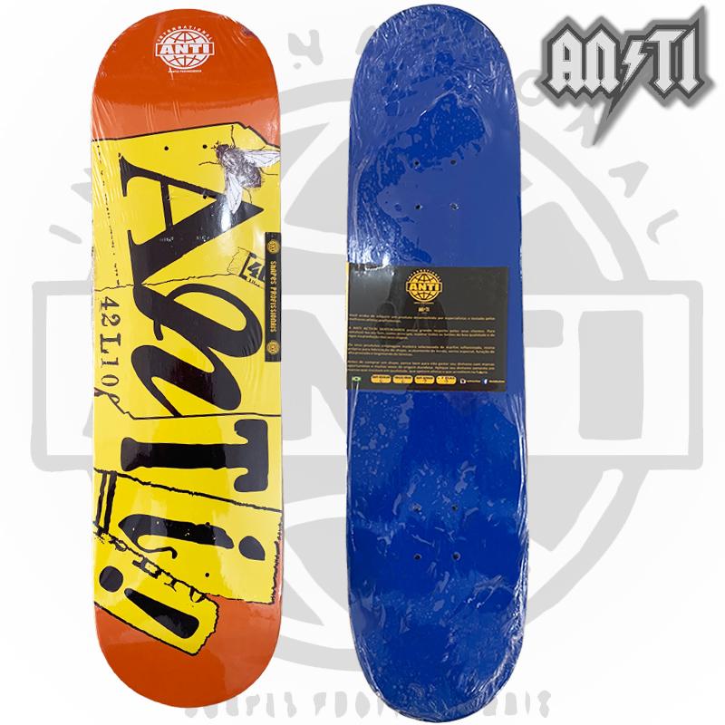 Skate Montado ANTI ACTION Semi profissional Modelo: BEE