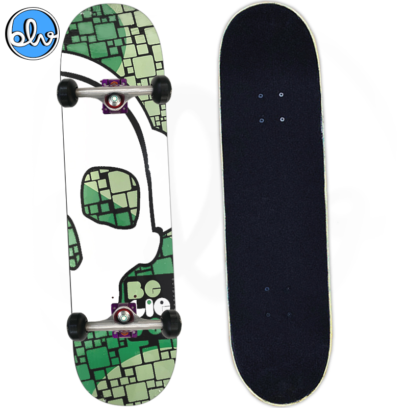 Skate Semiprofissional Montado Believe Caveira 8.0
