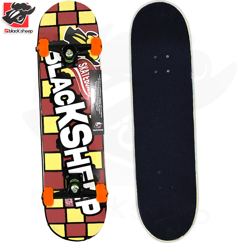 Skate Montado Black Sheep Iniciante Modelo: Chocolate Chokito 2