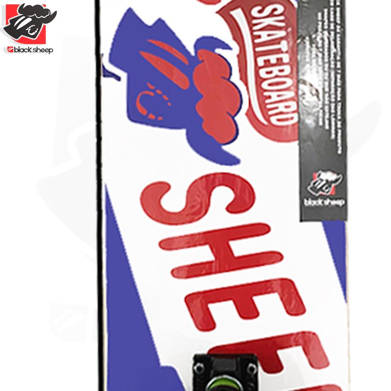 Skate Montado Black Sheep Iniciante Modelo: Chocolate CRUNCH
